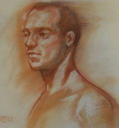 rostro masculino