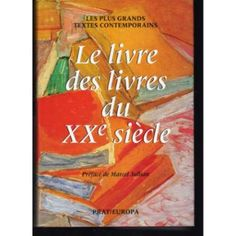 Le livre des livres du XXe siecle |Pinned from PinTo for iPad|