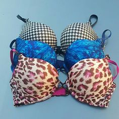 3 Victorias Secret Miraculous Plunge Bras Good condition. Victoria's Secret Intimates & Sleepwear Bras