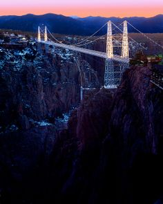 The Royal Gorge Bridge is the highest suspension bridge in North America! by Visit Colorado, via Flickr