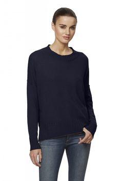 Women's Trista Crew Neck Cashmere Sweater | 360Cashmere | 360Cashmere