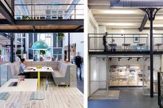 *코워킹 오피스 [ MoreySmith ] Deskopolitan co-working space, Paris,France :: 5osA: [오사]