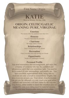 Meaning of Katie