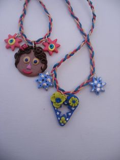 Childres favourites  kiddies necklace  by LiloLilsEmporium on Etsy