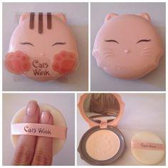 Tony Moly Cats Wink Pressed powder makeup- NEW! - http://amzn.to/2fDgJKk