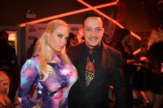 Anthony Rubio Attends the 2nd Annual Black, White, & Red Gala to Benefit Rock & Rawhide. A benefit for NYC's homeless animals. Here with Nicole Coco Austin. More info at www.RockAndRawhide.org