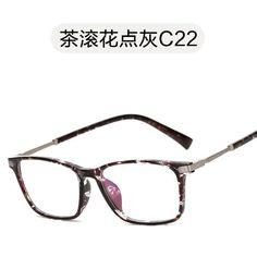 bfc40a832125 2017 Vintage Glasses Frame Women brand design Oculos De Sol Flower Print  Fashion Women Optical Light