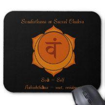 Svadisthana or Sacral Chakra Mousepad
