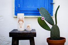 Art and Design. Cactus, Contemporary Ceramics, White Porcelain, Decoration, Planter Pots, Interior Design, How To Make, Handmade, Barcelona