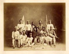 Iroquois (Mohawk) LaCrosse team - circa 1900