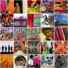 delhi is so colorful