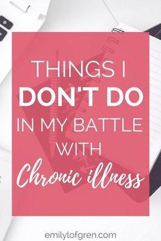Chronic Illness | Lyme Disease | Fibromyalgia | Chronic Fatigue Syndrome | Rheumatoid Arthritis | Multiple Sclerosis