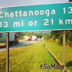 8/16/13 - 13 days until Mocs Football Kickoff!  Tell us where you are traveling from!? #GoMocs