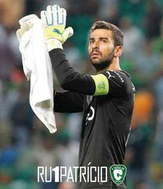 RUI PATRÍCIO: I want this guy keeping our nets safe. Thank you for everything, captain.