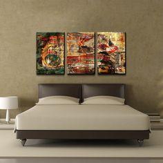 Ready2HangArt 'Abstract' Oversized Canvas Wall Art (Set of 3)