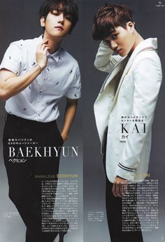 Baekhyun + Kai