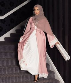 Sakina Abaya Available in our Made to Order collection www.aaliyacollections.com