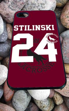 Teen Wolf Stilinksi lacrosse jersey for iPhone 4/4s, iPhone 5/5S/5C/6, Samsung S3/S4/S5 Unique Case *99*