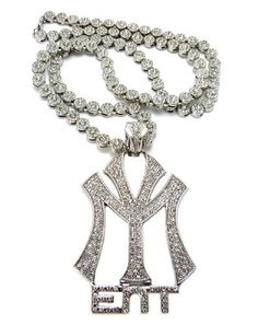 Silver Iced Out Young Money Ent Pendant with a 33 Inch Sunflower/Cluster Chain Necklace JOTW. $94.95. 100% Satisfaction Guaranteed!. Great Quality Jewelry!