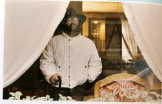 When *Big Time* Italian stars used to go to New York in the 80s, they always, no matter what they to put on to go outside, wore white Massimo Osti-designed Stone Island jackets inside to pad around their hotel rooms.    The legendary #LucioDalla photographed here by the almost equally legendary Luigi Ghirri in New York, 1984... taken from the Ideas from Massimo Osti book AVAILABLE NOW: http://ideasfrom.massimoosti.com/
