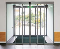 At long last engineers create automatic sliding doors with Star Trek-like intelligence | ExtremeTech & GEZE UK: Slimdrive SL-NT automatic sliding door system 8 of 10 ...