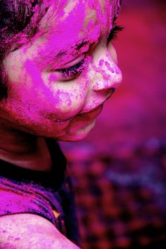 Holi Phagwa Festival of Colours #lente