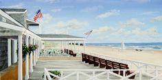 Looks like a perfect vacation spot ; Beach Wall Murals, Custom Wall Murals, Murals Your Way, Beach Chairs, Vacation Spots, Deck, Ocean, Wallpaper, Outdoor Decor