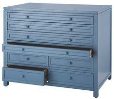 Martha Stewart Living™ Craft Space Eight-Drawer Flat-File Cabinet