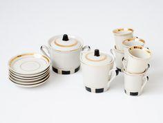 Vintage Tea Porcelain Set - Made in USSR Riga