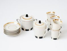 Vintage Tea Porcelain Set - Made in USSR Riga
