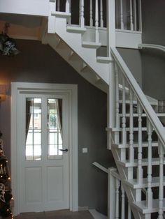 Mooie kleuren in hal/trapopgang
