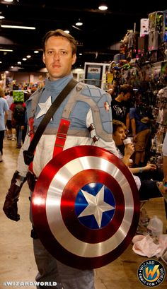 Caption American looking very handsome!, check out Wizard World Ohio Comic Con Sep 20-22, 2013!! Click http://www.wizardworld.com/home-ohio.html