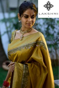 mustard-kanjivaram-saree-with-embroidered-border.jpg 481×720 pixels