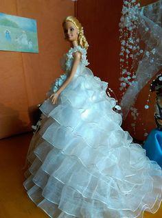 Bridal Gowns, Wedding Gowns, Wedding Day, Princess Gowns, Barbie Wedding, Bride Dolls, Bratz Doll, Barbie Friends, Hello Dolly