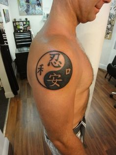 This article collect all types of amazing yin yang tattoo designs with significant meaning for your next tattoo. Wicked Tattoos, Hot Tattoos, Body Art Tattoos, Tattoos For Guys, Yin Yang Tattoo Meaning, Yin Yang Tattoos, Tattoos With Meaning, Unique Tattoo Designs, Unique Tattoos