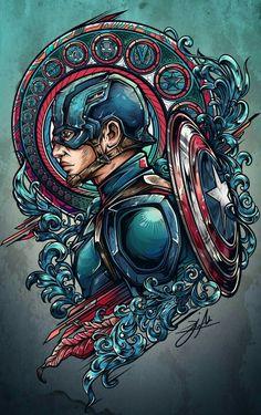 Team iron vs team cap project on behance art comic zeichnungen, comic kunst Marvel Comics, Bd Comics, Marvel Heroes, Marvel 3, Steve Rogers, Foto T Shirt, Harley Queen, Fantasy Anime, Comic Kunst
