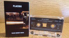 PLACEBO. BLACK MARKET MUSIC. MC / VIRGIN-BULGARIA - 2000 / CALIDAD LUJO.
