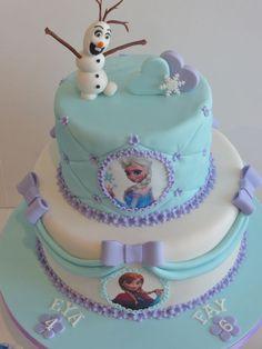 Awesome Photo of Frozen Birthday Cake Images Frozen Birthday Cake Images Frozen Birthday C Frozen Birthday Party, Doll Birthday Cake, Frozen Theme Party, Themed Birthday Cakes, 3rd Birthday, Elsa Birthday, Carnival Birthday, Birthday Parties, Disney Frozen Cake