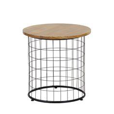 Arrojada e descontraída é a Mesa Lateral Redonda Pitéu ,é de design forte, para pequenos espaços que pedem por algo a mais. #mesa #table #decorate #decoratingideas #design #Enjoymid #moveis
