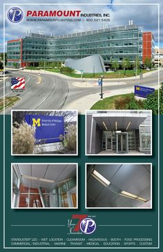 For more information about Educational and Medical facility lighting, visit this link: http://www.paramountlighting.com/learn/2017/07/12/university-michigan-uses-paramounts-custom-luminaires-biomedical-science-research-building/