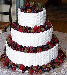 Lots of cheap wedding cake ideas http://www.cheap-wedding-solutions.com/cheap-wedding-cake-ideas.html