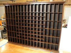 Custom Shot Glass Display Rack by ejhwoodworking on Etsy .