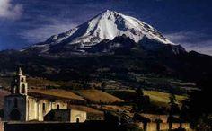Pico de orizaba montaña mas alta de Mexico