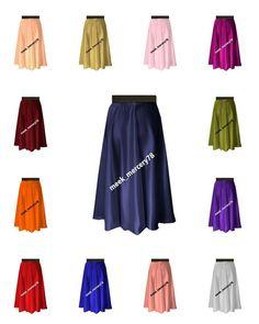 Satin Midi Skirt Casual/Party Wear Belly Dance Sexy Perry Skirt Plus Size Midi Skirt Casual, Sexy Skirt, Casual Skirts, Short Skirts, Flamenco Skirt, Half Sleeve Shirts, Skirt Suit Set, Satin Midi Skirt, Swing Skirt