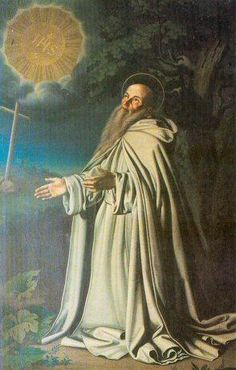 Happy Feast Day of St Romuald – June 19 #pinterest After a wasted youth, Romuald saw his father kill a relative in a duel over property. In horror he fled to a monastery near Ravenna in Italy. After three years some of the monks found him to be uncomfortably holy and eased him out. He spent the.........