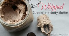 Homemade chocolate body butter is made with natural ingredients and smells so good you could eat it - and technically you can!