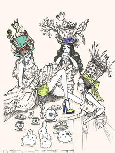 mad hatter tea party by youjin-marissa webb