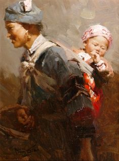 """Mian Situ (Chinese/American, born 1953)  """"Trip to the Market"""""""
