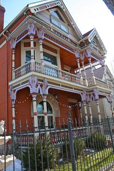 Queen-Anne/Victorian Denver, historic highlands