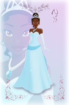 Tiana - if the green dress proves too difficult